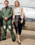 Rosamund Pike Buckles Up For The IWC Celebration Of The Silver Spitfire's Take-Off