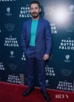 Shia LaBeouf Looks Good In Blue For 'The Peanut Butter Falcon' LA Screening