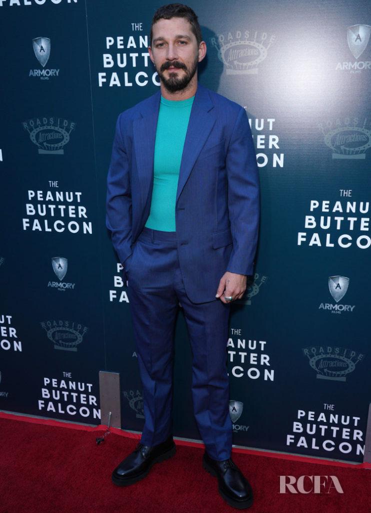 Shia LaBeouf In Givenchy - 'The Peanut Butter Falcon' LA Premiere