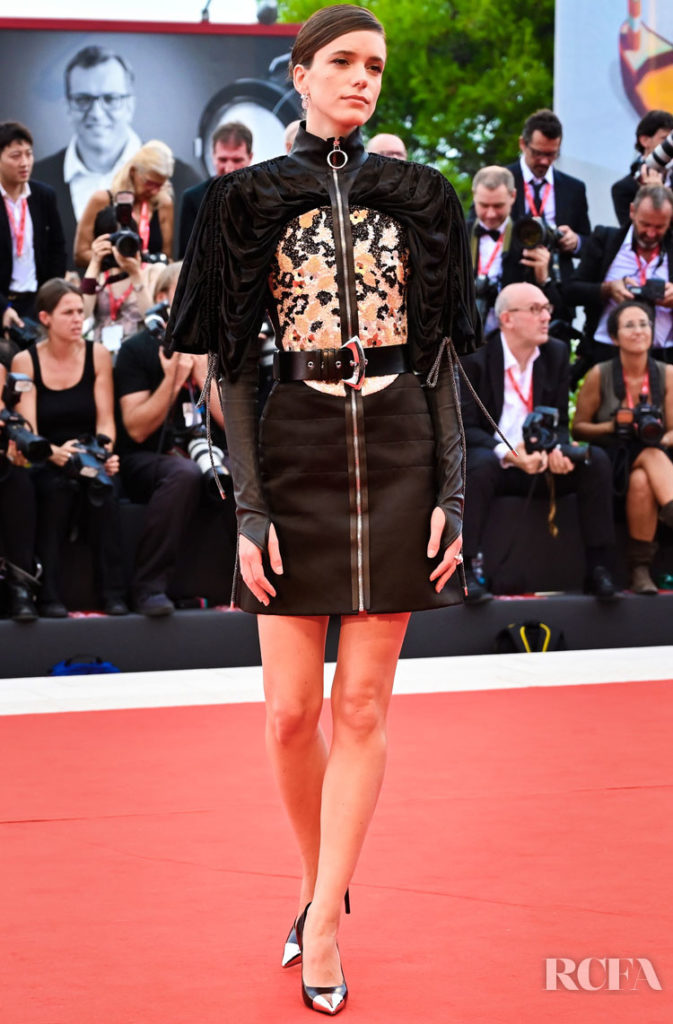 Stacy Martin in Louis Vuitton - 'La Verite' Venice Film Festival Premiere