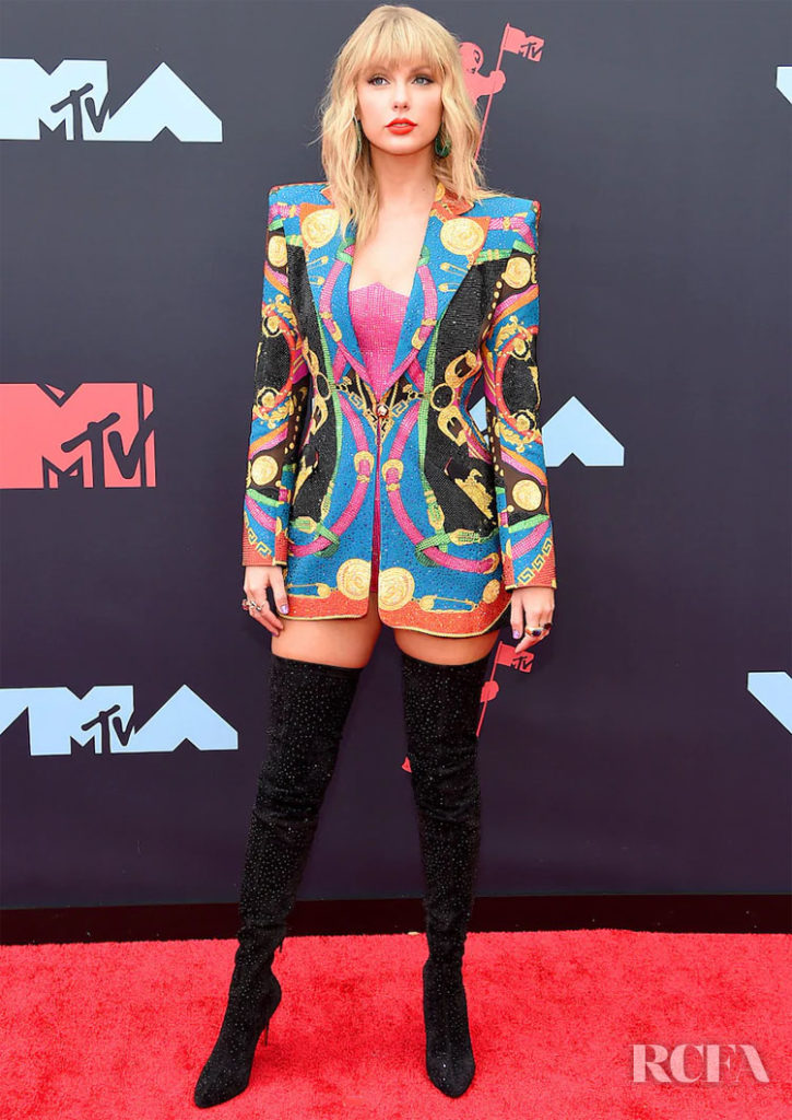 Taylor Swift In Versace - 2019 MTV VMAs