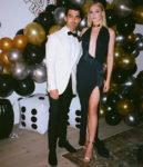 Sophie Turner Turns Sultry Bond Girl For Joe Jones' 30th Birthday Party