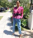 Yara Shahidi Romantic Ruffles For 'Ish' Universe At The D23 Expo