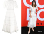 Zooey Deschanel's Ulla Johnson Odile Dress