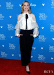Evan Rachel Wood Wore Marchesa To The D23 Expo For 'Frozen 2'
