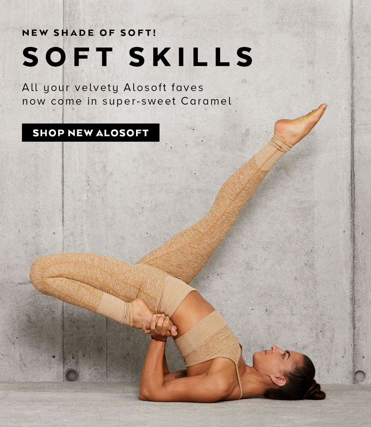 Alo Yoga's New Soft Faves Are Here