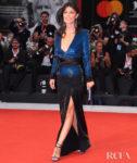 Alessandra Mastronardi In Etro - 'Martin Eden' Venice Film Festival Premiere