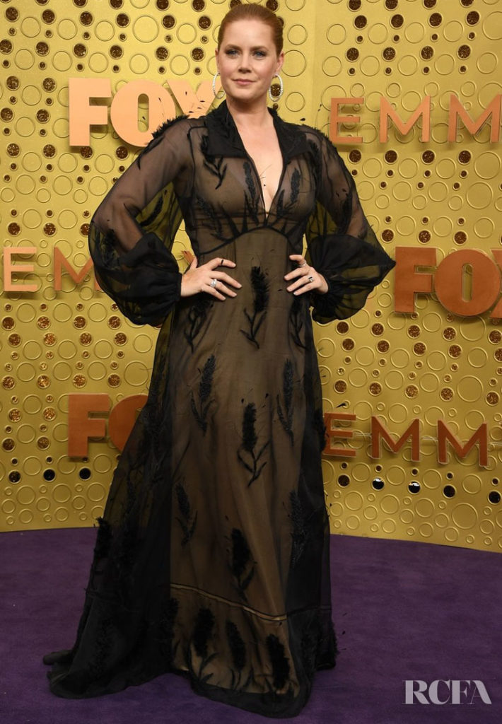 Amy Adams In Fendi Couture - 2019 Emmy Awards - Red Carpet ...