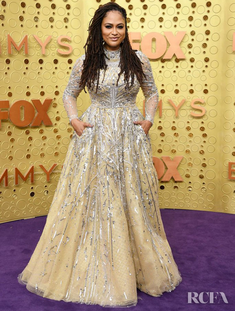 Ava DuVernay In Reem Acra - 2019 Emmy Awards