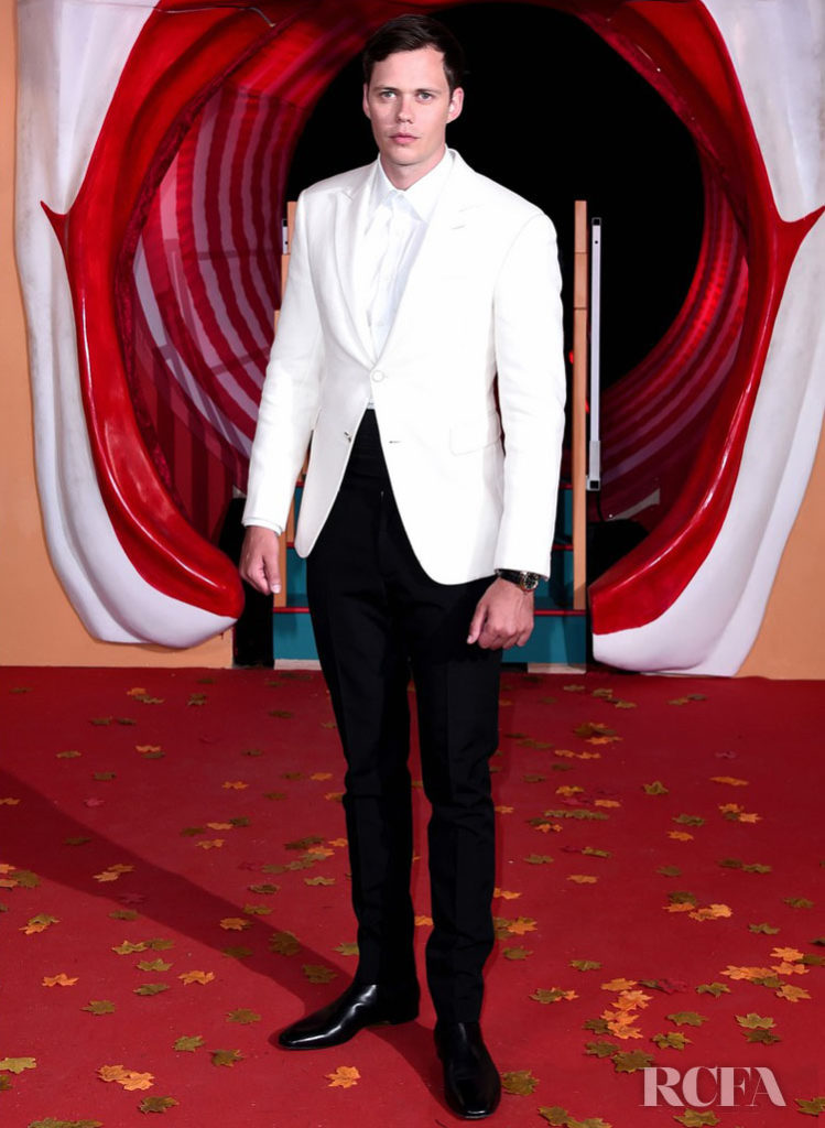 Bill Skarsgård Channels Connery's Bond For The London Premiere Of 'IT Chapter Two'