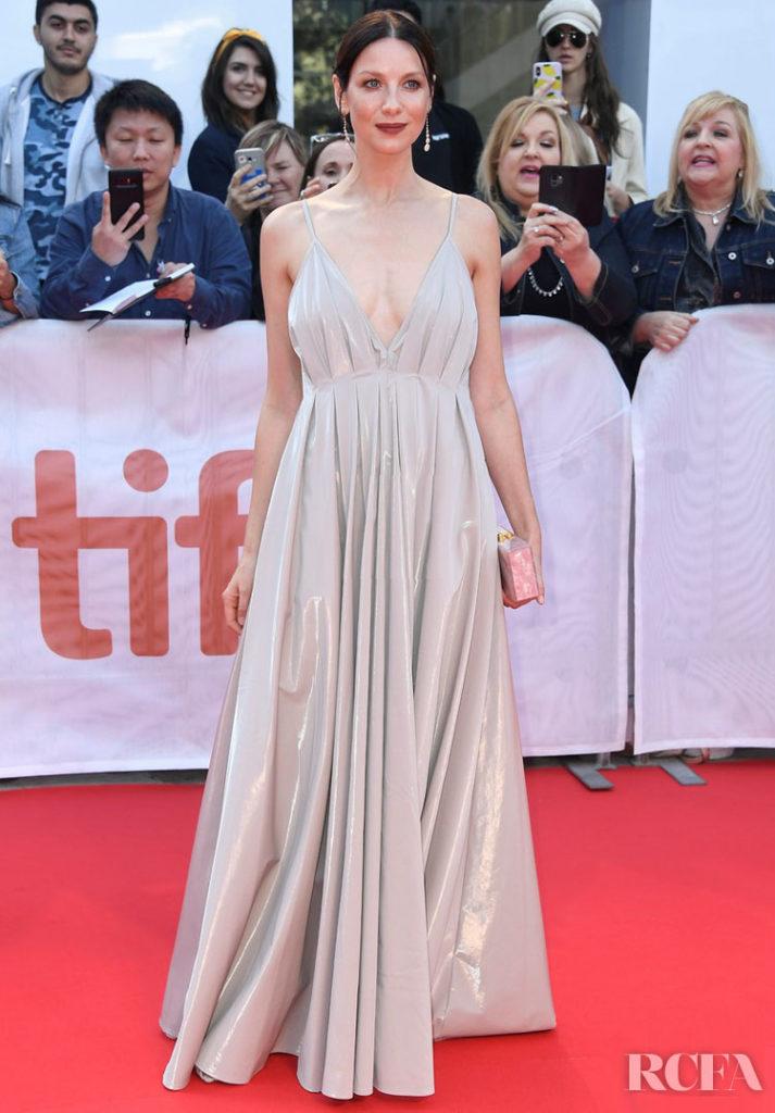 Caitriona Balfe In Paris Georgia - 'Ford v Ferrari' Toronto Film Festival Premiere