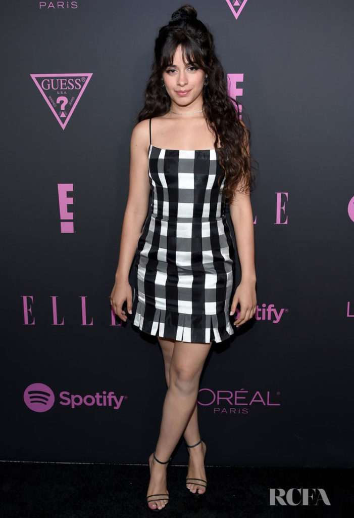 Camila Cabello's Checks Out The Elle Women In Music Event