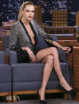 Cara Delevingne Gets Leggy For Her 'Carnival Row' Promo Tour