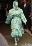 Cardi B Rocks Head-To-Toe Floral Richard Quinn For Paris Fashion Week