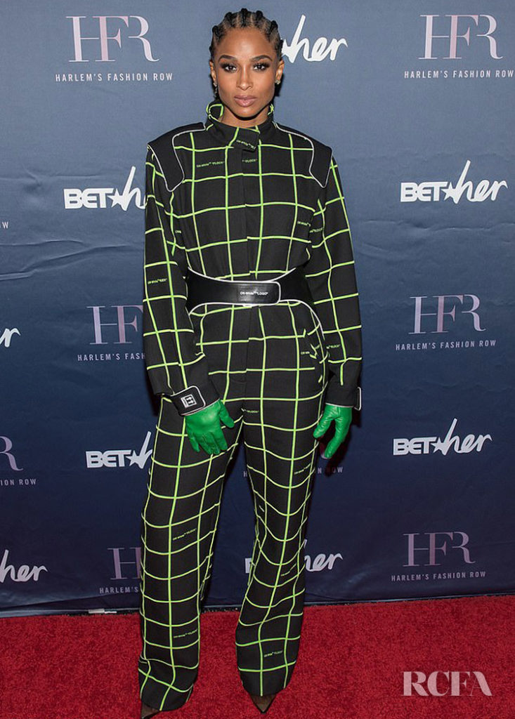 Ciara Channels Her Inner Formula One Driver For The Harlem's Fashion Row 12th Annual Fashion Show & Style Awards