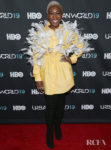 Cynthia Erivo Takes Flight In Markgong For The 'Harriet' New York Screening
