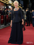 Dame Helen Mirren Was Looking Regal In Chalayan For The 'Catherine The Great' London Premiere