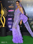Deepika Padukone Looked Lovely In Lilac For The International Indian Film Academy Awards (IIFA)