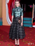 Diane Kruger's Metallic Fall Outing For The 'IT Chapter Two' London Premiere