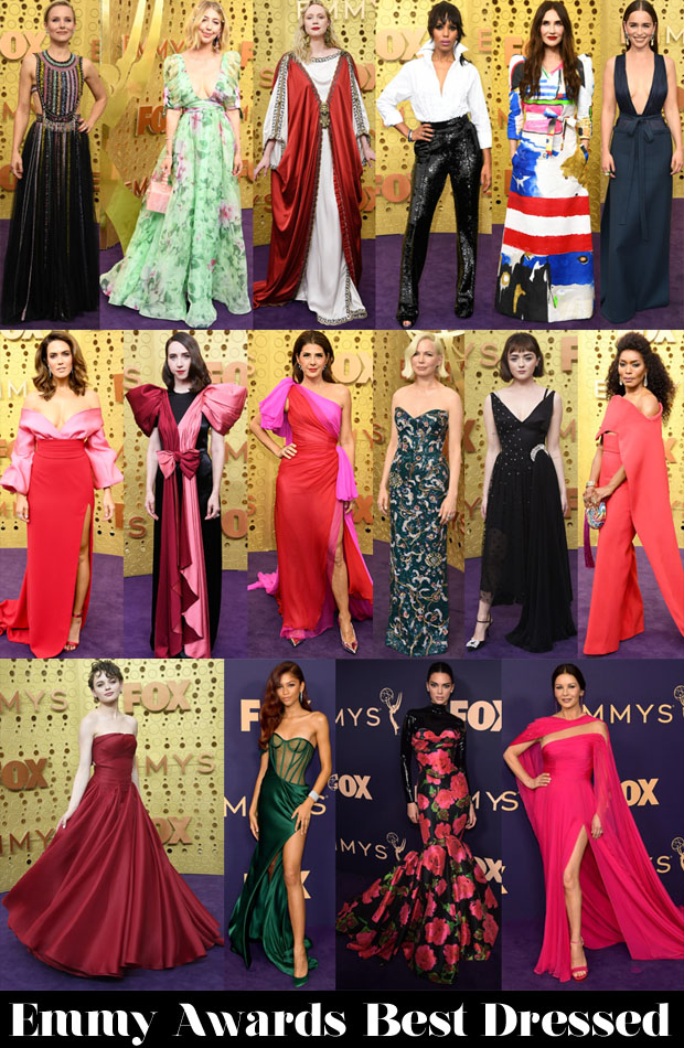 Who Was Your Best Dressed At The 2019 Emmy Awards?
