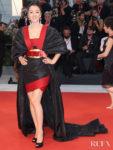 Gong Li In Elie Saab Haute Couture - 'Lan Xin Da Ju Yuan' Venice Film Festival Premiere