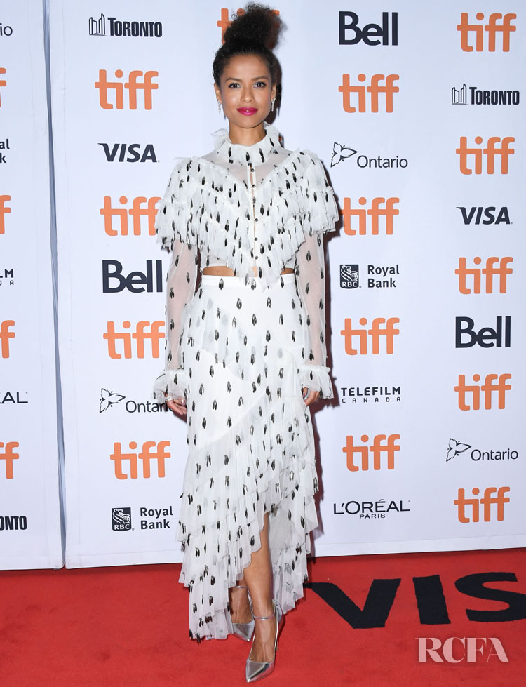 Gugu Mbatha-Raw In Rodarte - 'Motherless Brooklyn' Toronto Film Festival Premiere