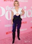January Jones' Risky Rodarte For 'The Politician' New York Premiere