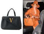 Jennifer Lopez's Versace Virtus Tote Bag