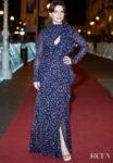 Juliette Binoche Wears Chloe's Aquatic Florals To  'La Verite' San Sebastian Film Festival Premiere