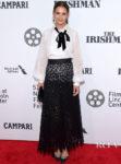 Katie Holmes Weekend Wardrobe For 'The Irishman' New York Film Festival Premiere & Global Citizen Festival