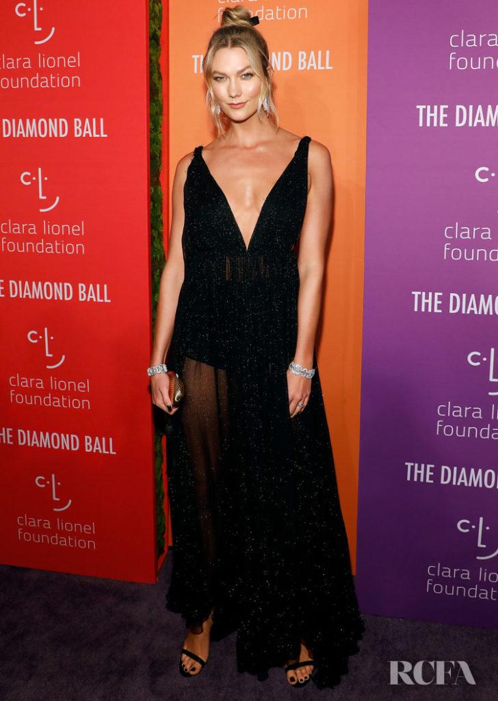 Karlie Kloss in Dior - 2019 Diamond Ball