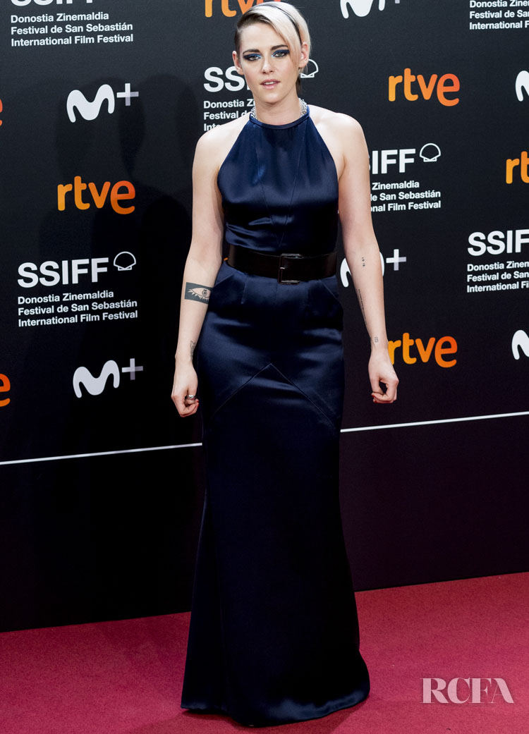 Kristen Stewart Goes Glam In Chanel Haute Couture For The 'Blackbird (La Decision)' San Sebastian Film Festival Premiere
