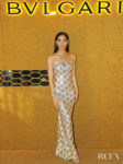 Lily Aldridge Shines Bright At The Bvlgari Serpenti Seduttori Launch Event