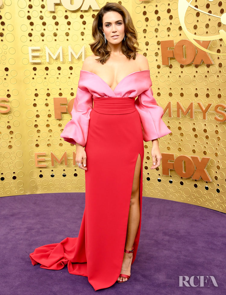 Mandy Moore In Brandon Maxwell - 2019 Emmy Awards