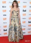 Maya Hawke In Christian Dior - 'Human Capital' Toronto Film Festival Premiere
