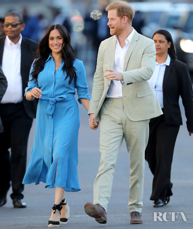 Meghan Markle South African royal tour