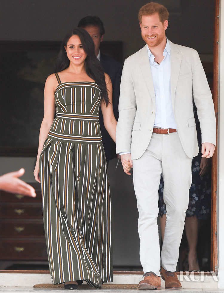 Meghan Markle in Martin Grant South Africa Royal Tour