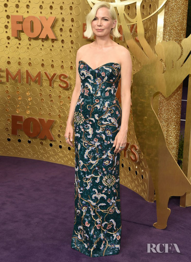 Michelle Williams In Louis Vuitton - 2019 Emmy Awards