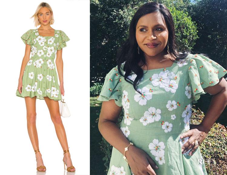 Mindy Kaling's All Things Mochi Kay Dress