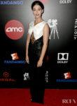 Naomi Scott Celebrates Elizabeth Banks Pioneer of the Year Award