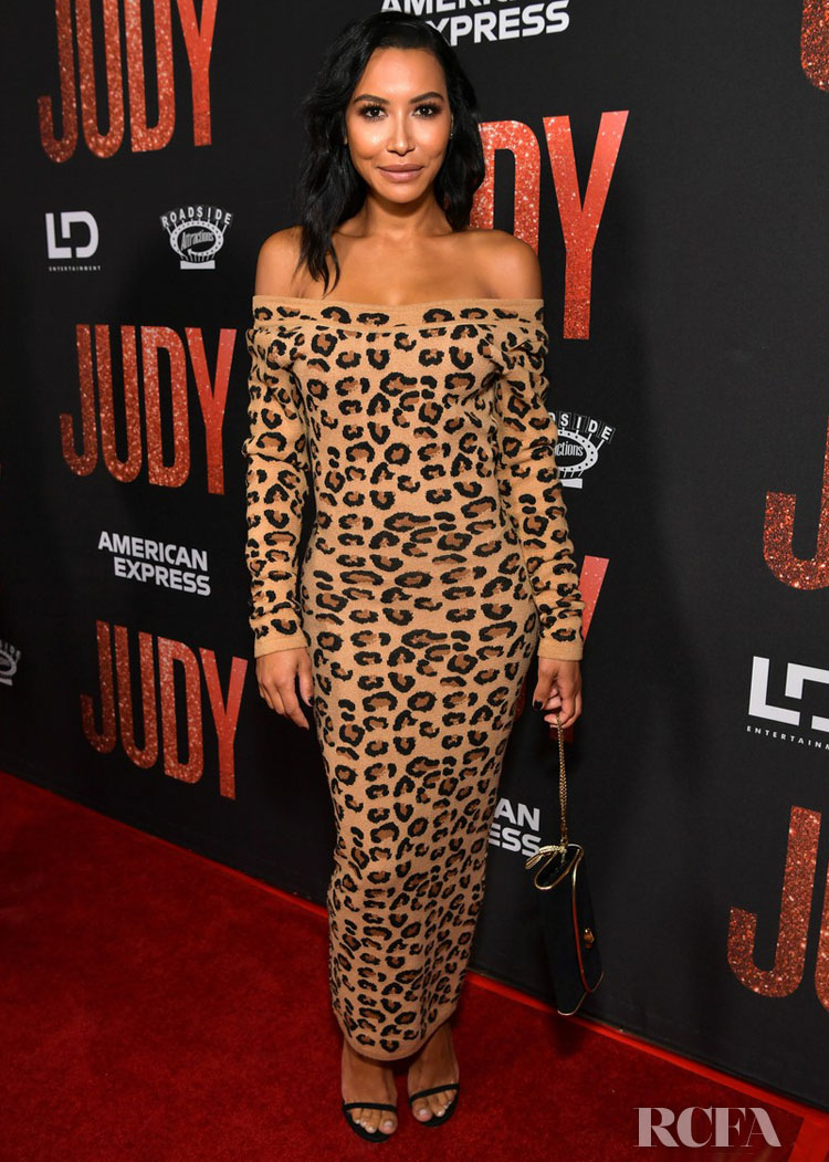 Naya Rivera's Vintage Alaia Moment At The 'Judy' LA Premiere