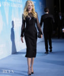 Nicole Kidman's Chic Alexandre Vauthier Haute Couture LBD For The Global Ocean Monte-Carlo Gala