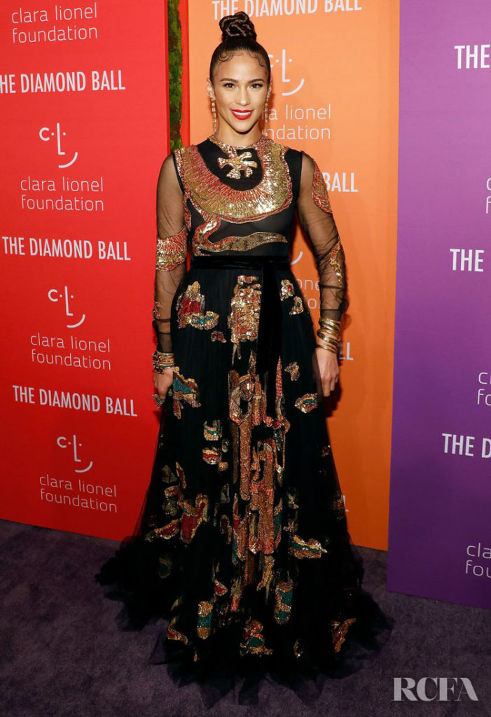 Paula Patton in Valentino - 2019 Diamond Ball
