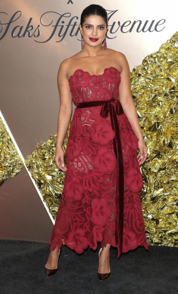 Priyanka Chopra Receives Her Vanity Fair's 2019 Best Dressed List Honor