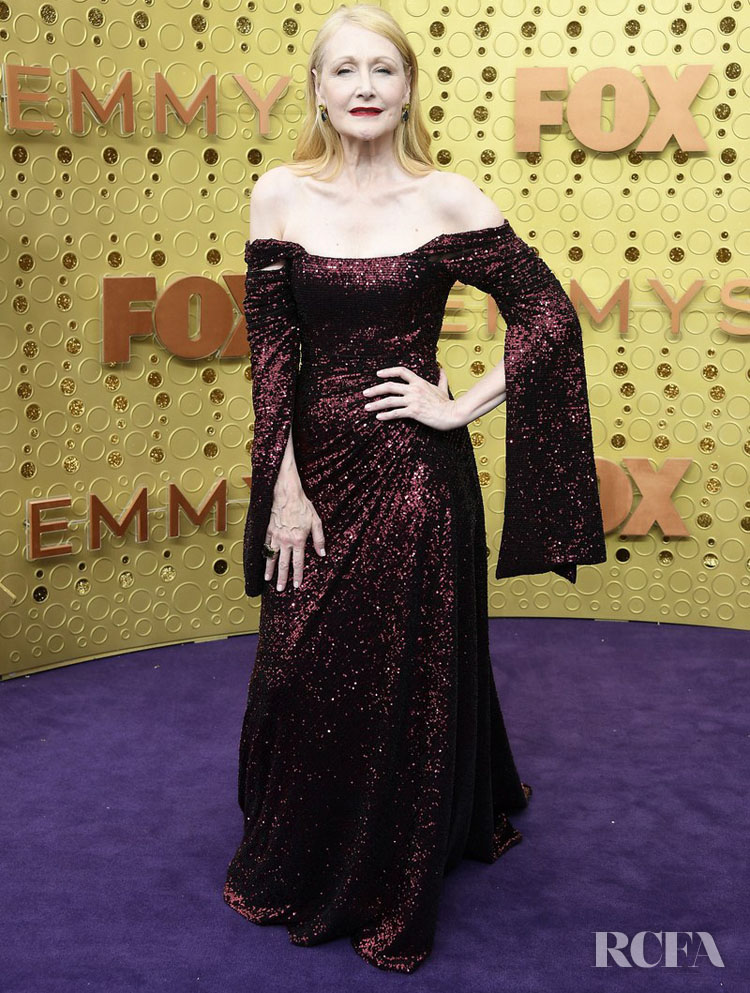 Patricia Clarkson In Christian Siriano - 2019 Emmy Awards