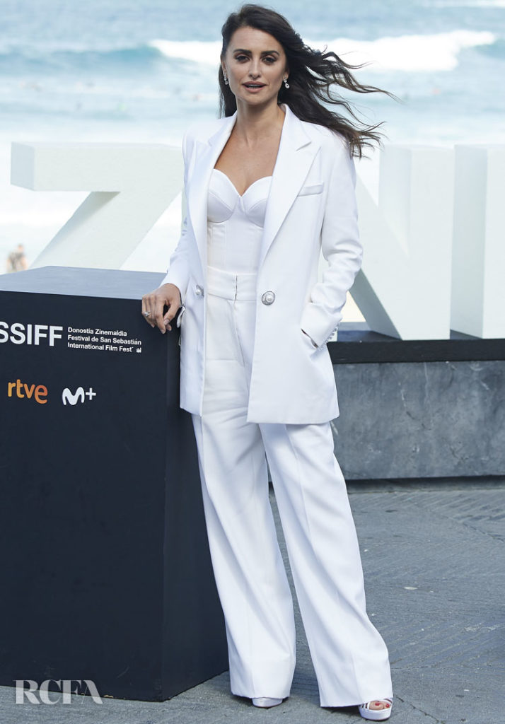 Penelope Cruz Stuns San Sebastian Film Festival In All White