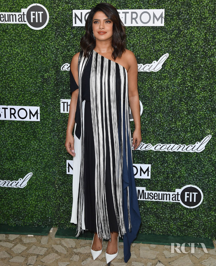 Priyanka Chopra Was Fashioned In Fringe For The 2019 Couture Council Luncheon Honoring Christian Louboutin