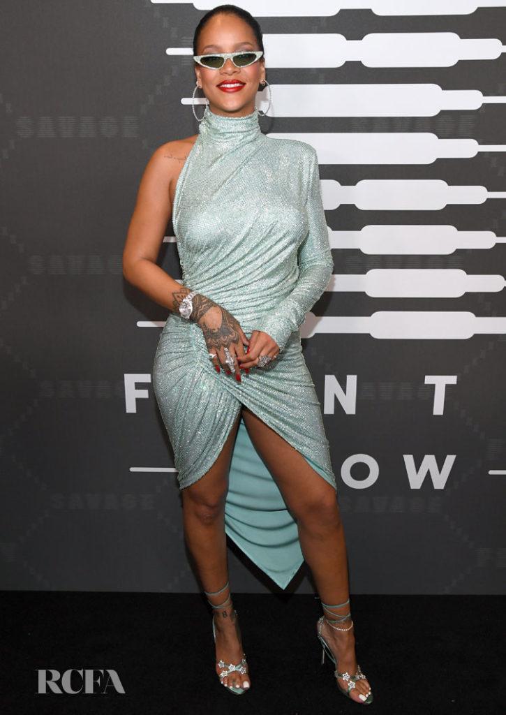 Rihanna Didn't Wear Fenty For Her Savage X Fenty Show