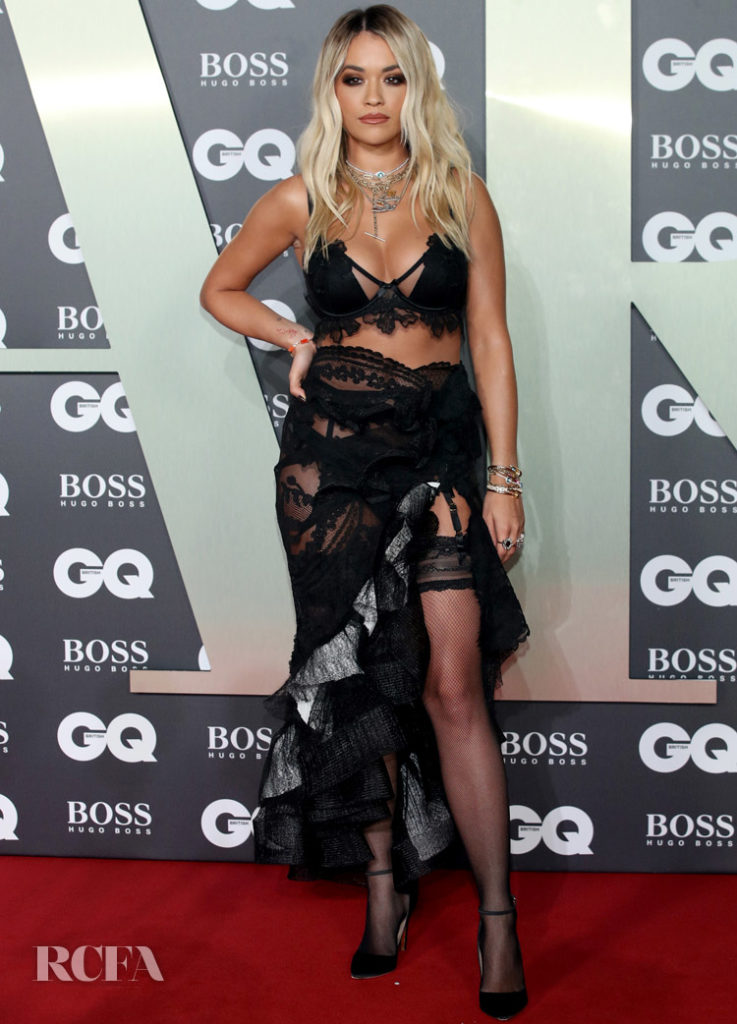 Rita Ora In Maticevski - GQ Men Of The Year Awards 2019