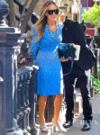 Sarah Jessica Parker Dazzles In A Studded Blue Dress For The Today Show